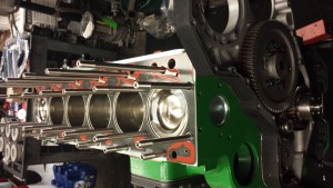 Advanced Cylinder Heads Diesel Engine in Progress