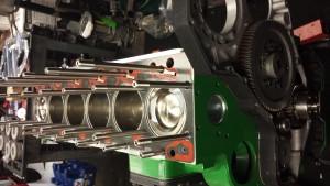 Advanced Cylinder Heads Diesel Engine in Progress